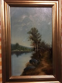 Art oil old 21 by 14 Toronto, M3L 0A1