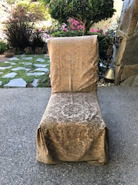 brown and gray floral padded armchair Danville, 94506