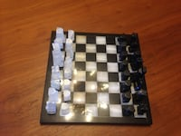 Black and white marble chess set Markham, L3T 7A2