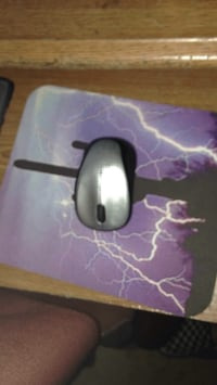 Black and gray corded computer mouse with mouse pad Colorado Springs, 80904
