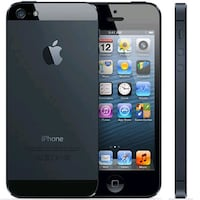 black/grey iphone 5 , at&t.  Charles Town, 25414