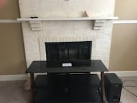 black and gray TV stand Edmonton, T5Z 2N3