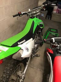 KLX140L 2017 barely used