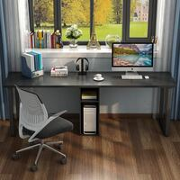 Black Double Computer Desk (BRAND NEW UNOPENED) Washington