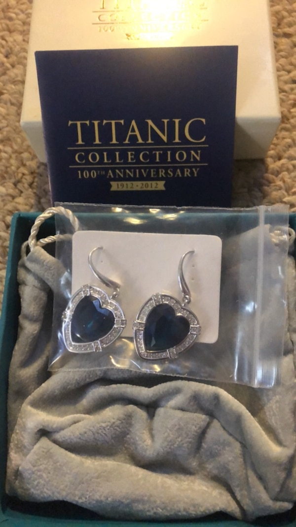 Earrings Titanic Collection
