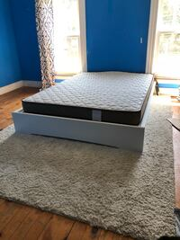 Mattress, bed frame, and carpet Painesville, 44077
