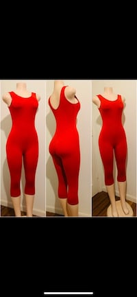 Red romper Dallas, 75216