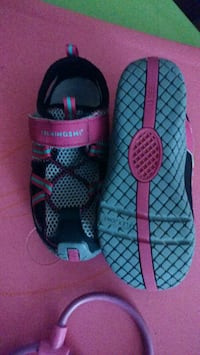 Size 11.5 girl summer shoes Gaithersburg, 20879