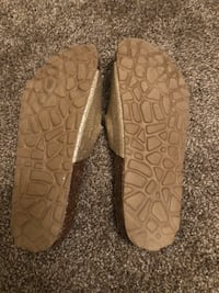 pair of brown leather flats Lacey, 98503