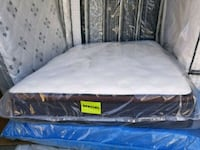 white and black mattress with pack Edmonton, T5A 4H3