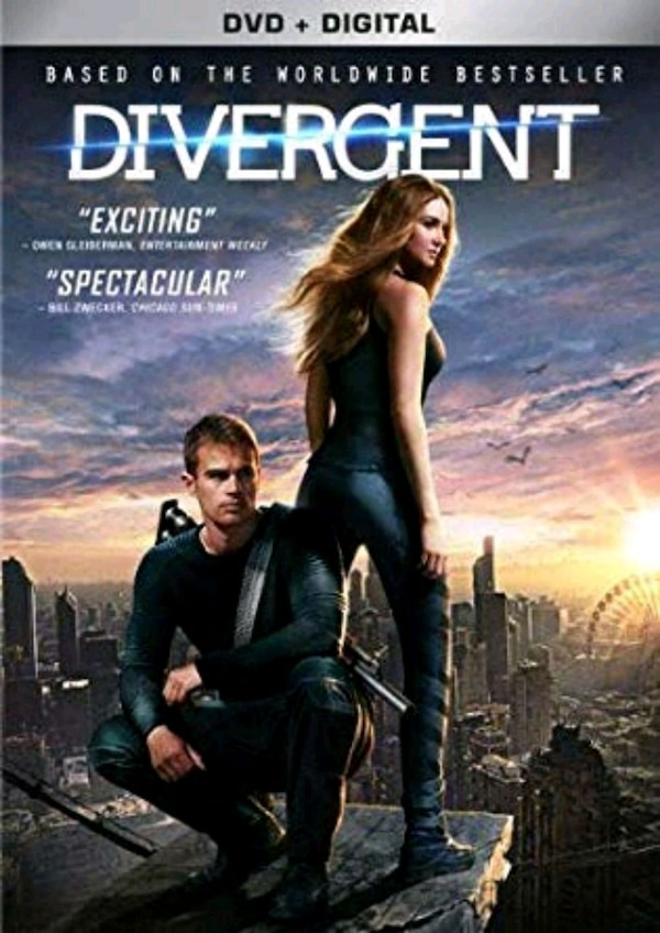 3 dvd divergent trilogy collection series