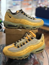 Wheat air max 95s size 9 Silver Spring, 20902