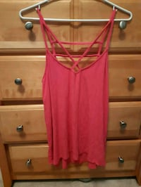 Hollister pink tank top  Waterloo, N2J 3Z4