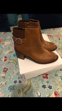 pair of brown leather boots Dumfries, 22026