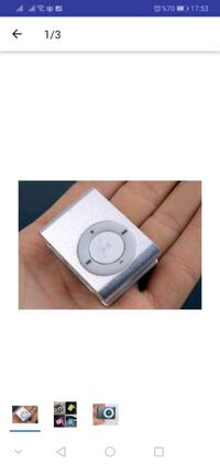 Mini MP3 Player Kulaklığıyla