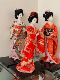Chinese geisha figurine dolls Rockville, 20850