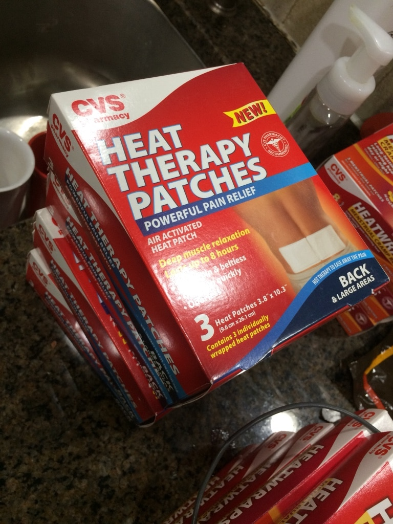 Walgreens Heat Therapy Patches, Back, 3 ea Pack of 2