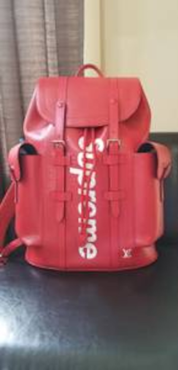 Used Supreme x Louis Vuitton Backpack for sale in Bellevue - letgo fa839a6fc7471