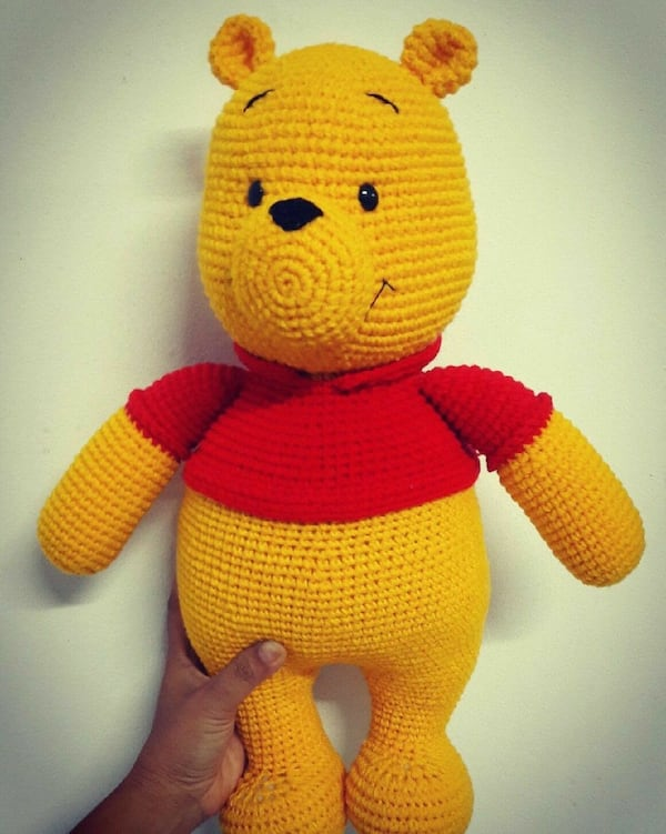 Crochet Winnie the Pooh -free crochet pattern | Knitting and Crochet | 751x600