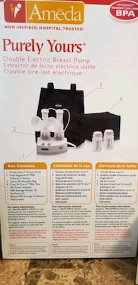 Ameda Double Electric Breast Pump Waterloo Regional Municipality