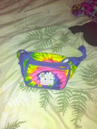 purple and pink floral bag Chattanooga, 37407