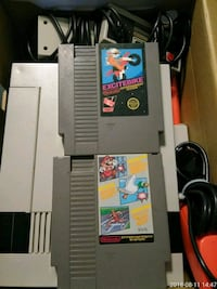 NES console with game cartridges Mesa, 85205