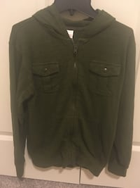 Gymboree jacket size 10-12 army green color