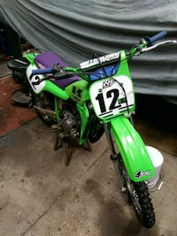 Kowasaki kx 60 dirt bike