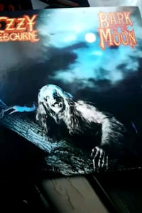 "Ozzy Osbourne ""Bark at the Moon"" vinyl album La Plata, 20646"