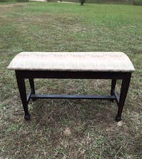 ANTIQUE AMCO PIANO BENCH with storage