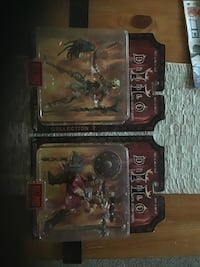 Diablo II figure over 20 years old serious inquires only Calgary, T2Z 4N8