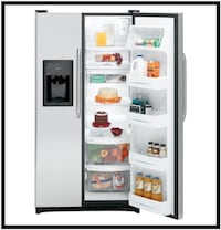 Reconditioned GE Side-By-Side Refrigerator GSH25JSTSS