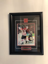 Sidney Crosby 2010 Olympics picture with frame