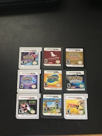 $10 for each ds game, $20 for each 3ds game  Irvine, 92604