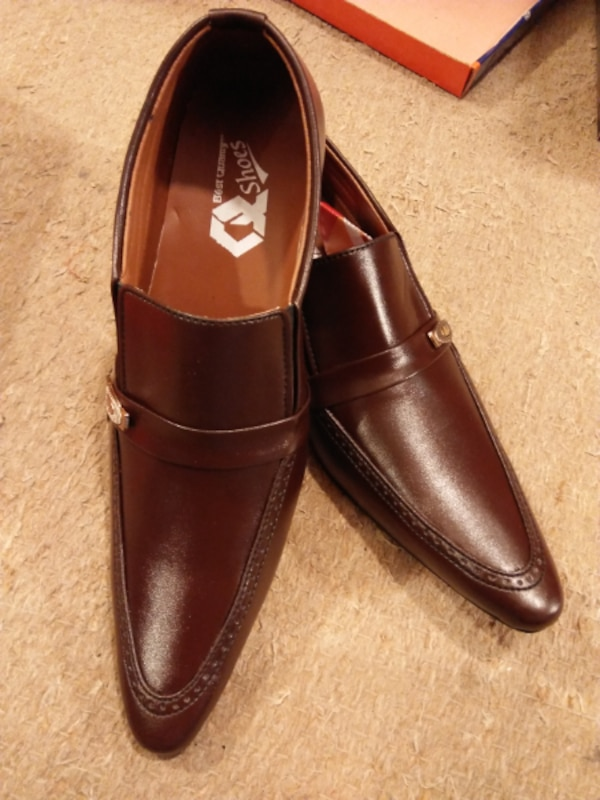 Brown Stylish Q Formal Shoes For Men