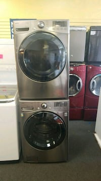 LG front load set new washer and electric dryer  43 mi