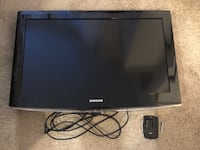 "Samsung 32"" LCD HD Flatscreen TV with Wall Mount & HDMI Cord New Westminster, V3M 3M5"