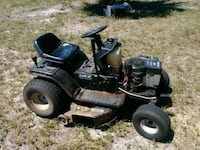 black and gray ride on mower Cape Coral, 33909