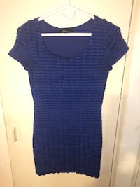 Forever 21 ruffled bodycon dress size small 538 km