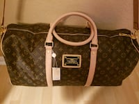 brown and white Louis Vuitton leather tote bag Hialeah, 33018