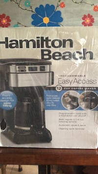 Brand NEW Hamilton Beach coffee maker  Toronto, M3M 2V7