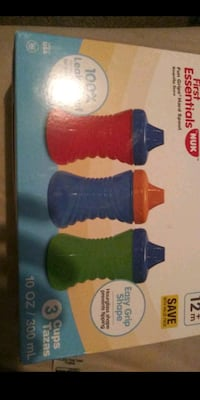 3 pack leak proof sippy cups