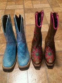 three pairs of assorted boots Ogden, 84401
