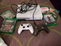 white Xbox One console with controller and game cases Winchester, 22602