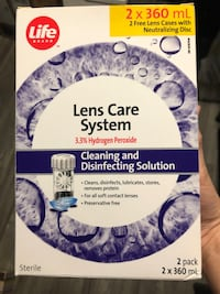 Free: Lens care system- never opened