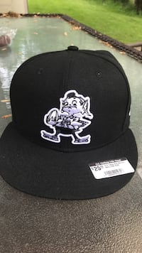 Black and white toronto raptors fitted cap Highland Heights, 44143