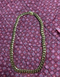 Gold plated Miami Cuban chain 14mm thick  Las Vegas, 89123