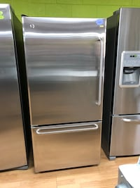 GE stainless steel bottom freezer refrigerator  Woodbridge, 22191
