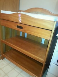 Deluxe change table with handy drawer...Firm price Corbyville, K0K 1V0