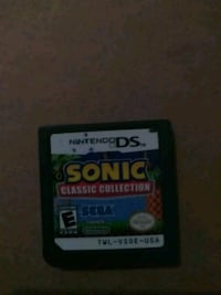 Nintendo DS Sonic game cartridge Clarksville, 37040